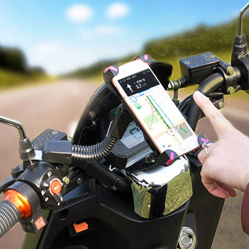ZASMO 2018 Hot Sale Dedicated Mobile Phone Support For Motorcycle 360 Degree Rotating Mobile Phone Bracket