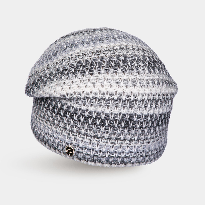 [Available from 10.11]Hat Woolen hat Canoe unique long band decorated adjustable sun hat
