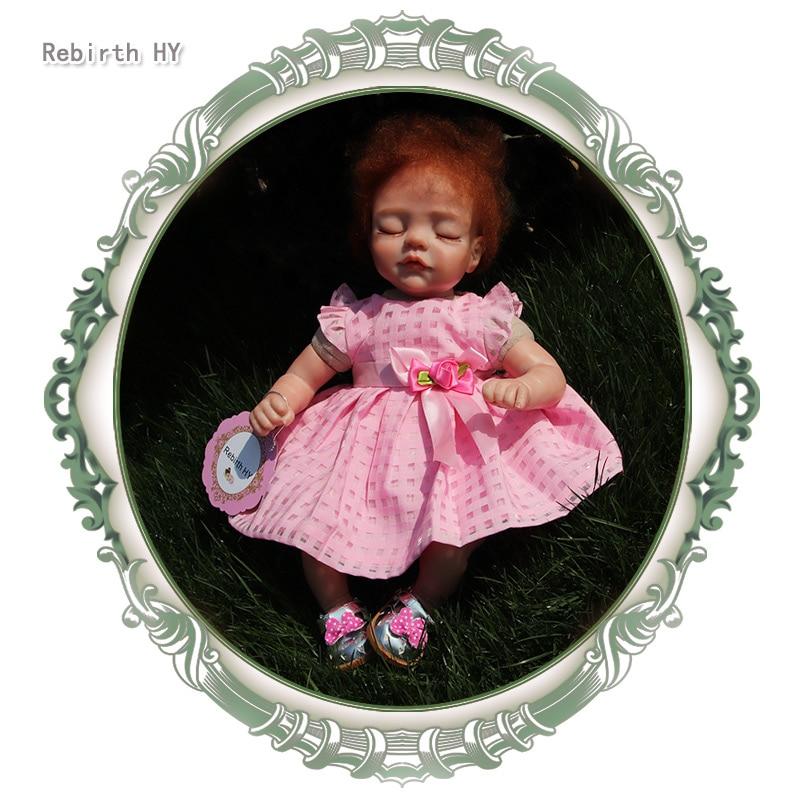 Nueva Moda17 Pulgadas Reborn Muñecas de Silicona de Cuerpo Completo - Muñecas y accesorios - foto 1