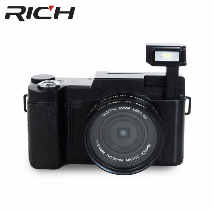 DHL 10pcs/lot p1 Digital Camera 1080P 15fps Full HD 24MP D 3.0inch Rotatable LCD Screen Video Camcorder Wide Angle Lens Cameras