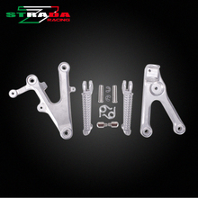 Front Foot Rests Pedal Bracket Assembly Kit For Yamaha YZF600 R6 2003 2004 2005 YZF R6 03 04 05 Motorcycle Parts