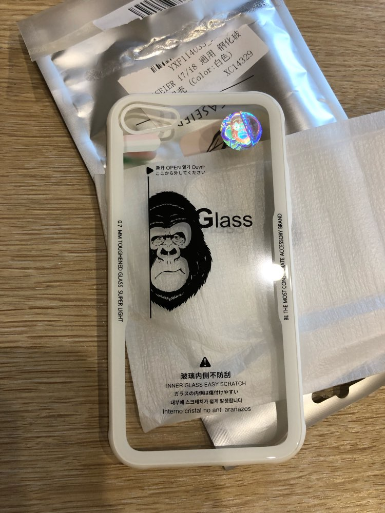 Ghost Glass iPhone Case photo review