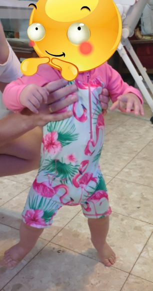Long Sleeve Unicorn One Piece Swimsuit photo review