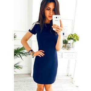 JPTTUP Summer Women Shoulder Lace Sleeve Dresses Elegant fbb0b1e44873