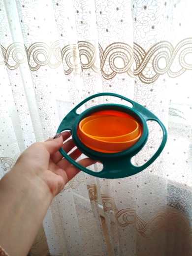 Jocestyle™ Spill Proof Bowl photo review
