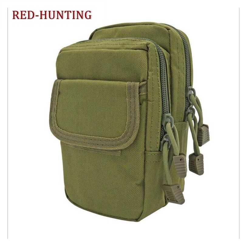 Многофункциональная охотничья сумка на открытом воздухе Молл рюкзак жилет аксессуар тактическая Система переноски военного снаряжения поясная сумка