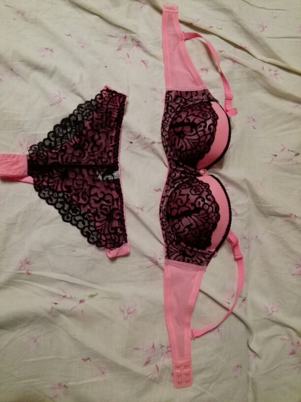 Hot Elegant luxury and romantic bra set for women 1/2 trace + lace push up sexy underwear sets 5 color bra and panty set