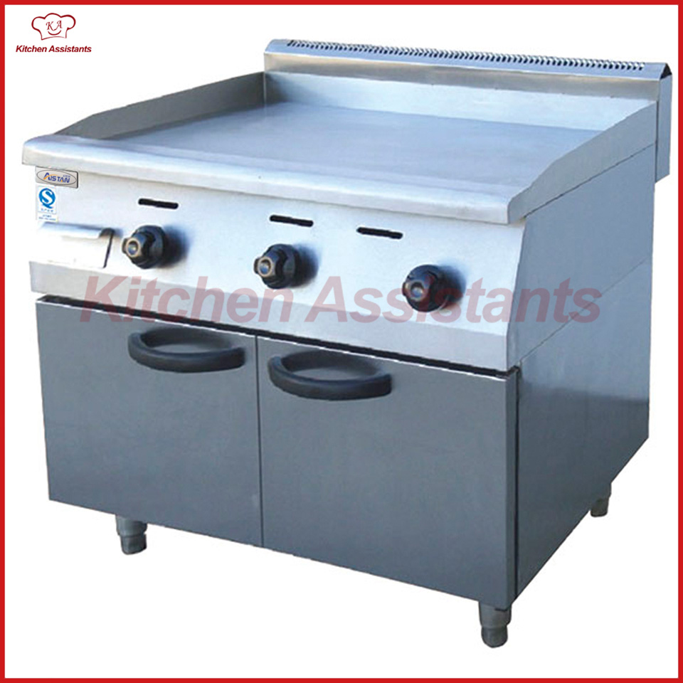 GH36A vertical gas griddle with cabinet of catering equipment цены