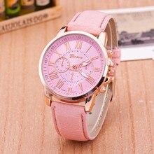 יוקרה מותג עור קוורץ שעון נשים גברים גבירותיי אופנה שעון יד שעוני יד שעון relogio feminino masculino 8A01