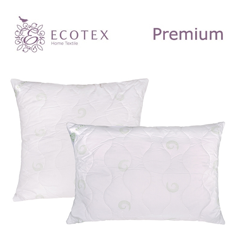 Pillow Seaweed collection Premium. Production company Ecotex(Russia). pillow fiber collection comfort production company ecotex russia