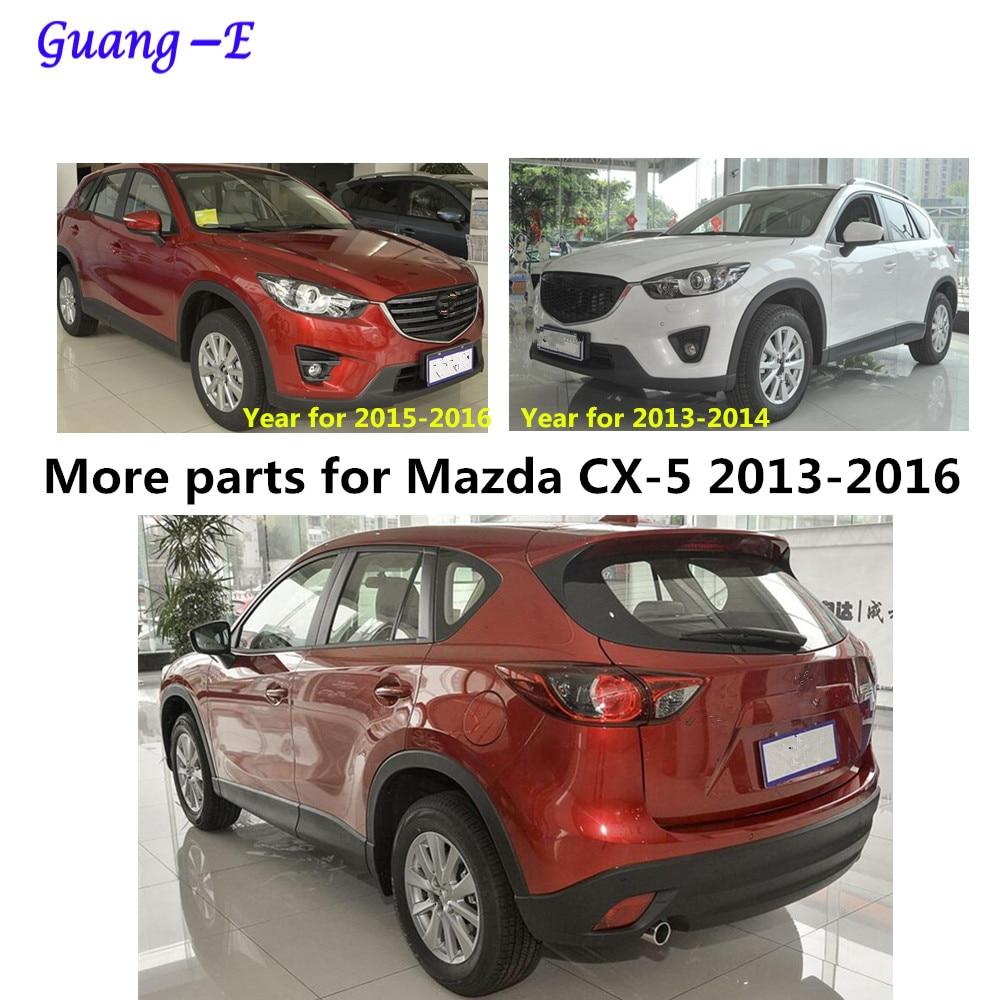Mazda CX-5 CX5 2013 2014 2015 2016 avtomobil çubuq örtüyü ABS - Avtomobil daxili aksesuarları - Fotoqrafiya 6