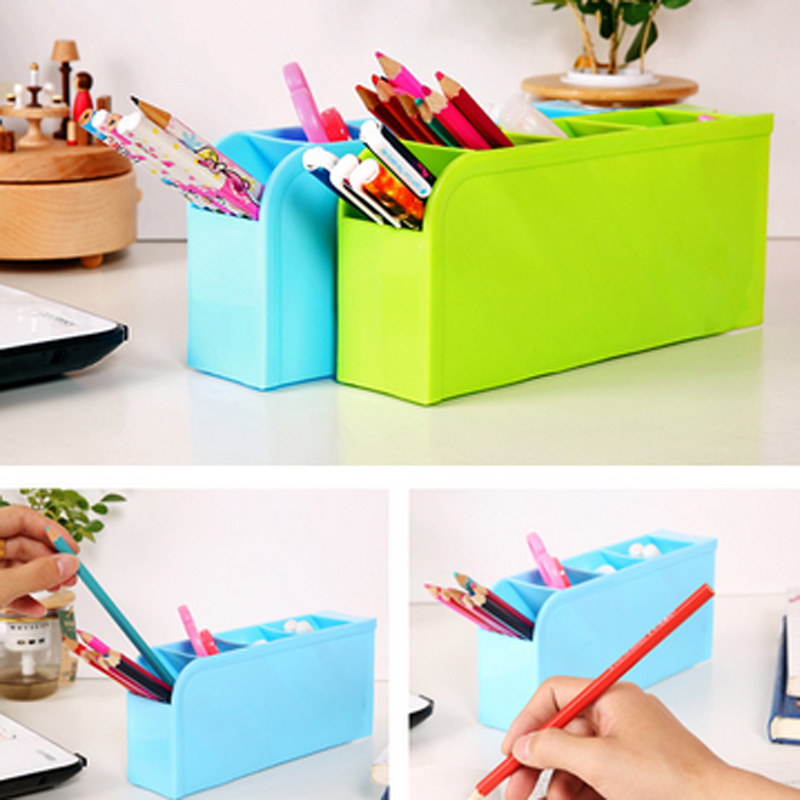 Office Cosmetic Easy Organiser Organizer Holder Makeup Decor Box Storage Desk