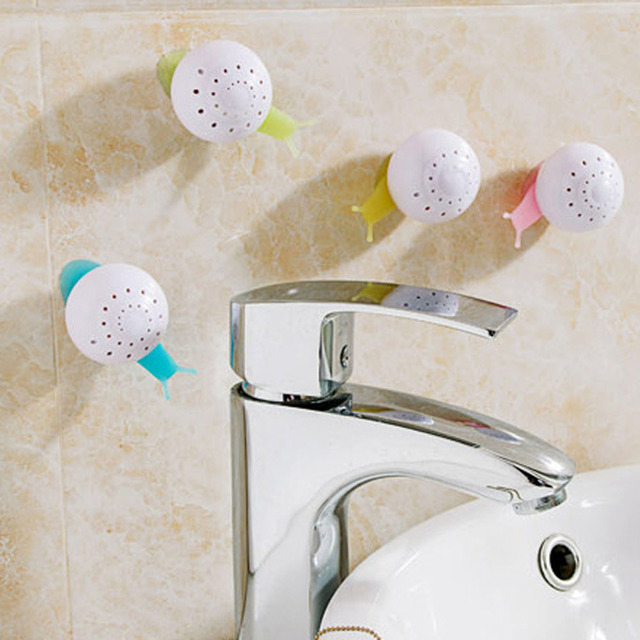 Bathroom Fresheners new indoor air freshener snail shape suction cup bedroom bathroom