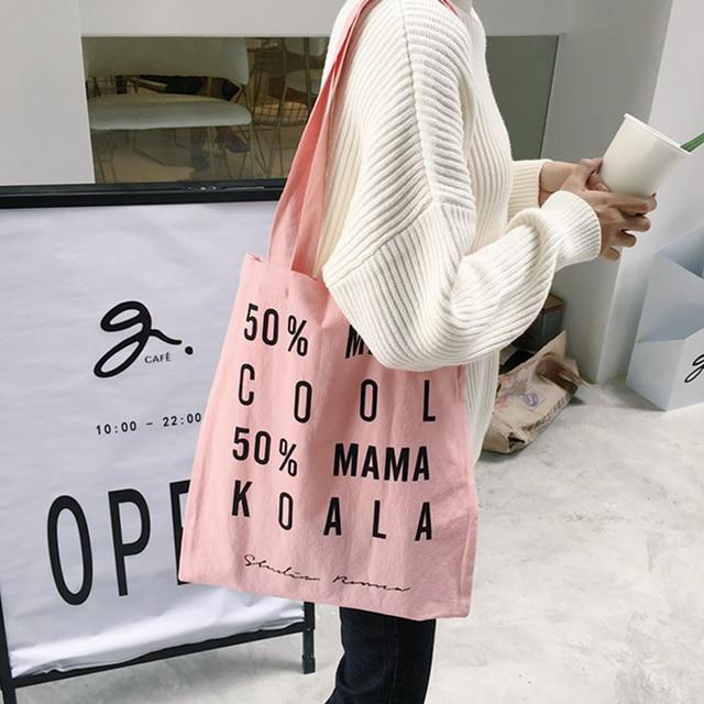 Printed cotton mama's bag x8855nZgk