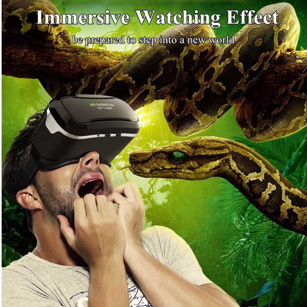 VR Glasses 3D Glasses VR Headset Virtual Reality Glasses for iPhone Galaxy S9 Androd Phone Smartphone Google Cardboard ...
