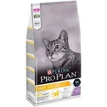 Сухой корм Purina Pro Plan для кошек с избыточным весом и кошек, склонных к полноте, с индейкой, 6 упаковок по 1.5 кг