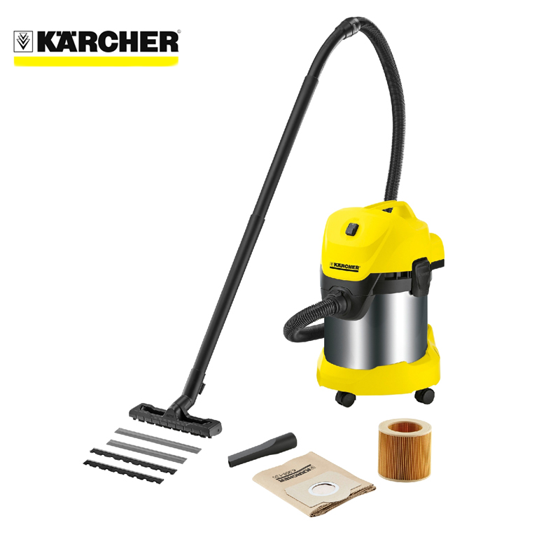 Vacuum cleaner for dry and wet cleaning KARCHER WD 3 Premium 3 pack 3 armed side brush replace for irobot roomba vacuum 800 series 880 870 900 series 980 vacuum cleaning accessory kit