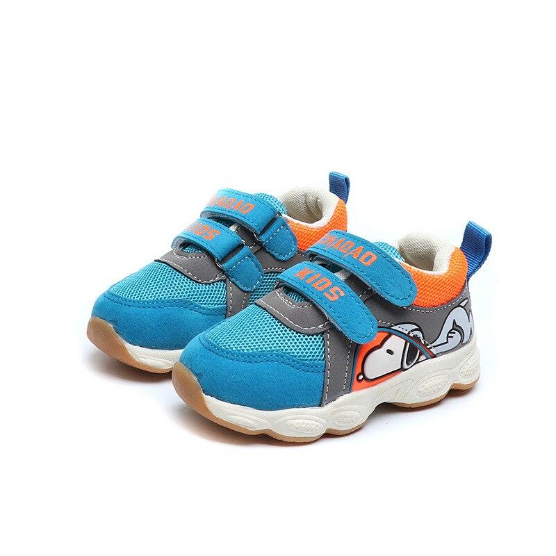 New 2018 European fashion fashion cartoon children shoes princess cute baby girls boys hot sales fashion Lovely kids sneakers