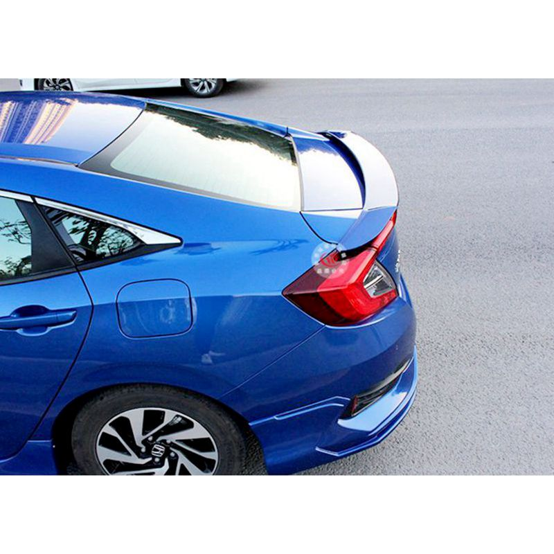For Honda Civic Spoiler of the tail Material Car Rear Wing No color Color Rear Spoiler Rear Wing Spoiler With Led Light 2016