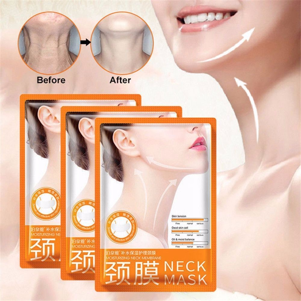 Dropship!! 1pc Superior Anti-aging Neck Mask Whitening Nourishing Firming Neck Care Women Moisturizing For Neck Skin Care TSLM2
