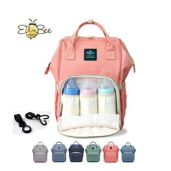 цена на New Upgraded Diaper Bag Fashion Mummy Maternity Nappy Bag Large Capacity Baby Bag Travel Backpack Designer Nursing Bag Baby Care