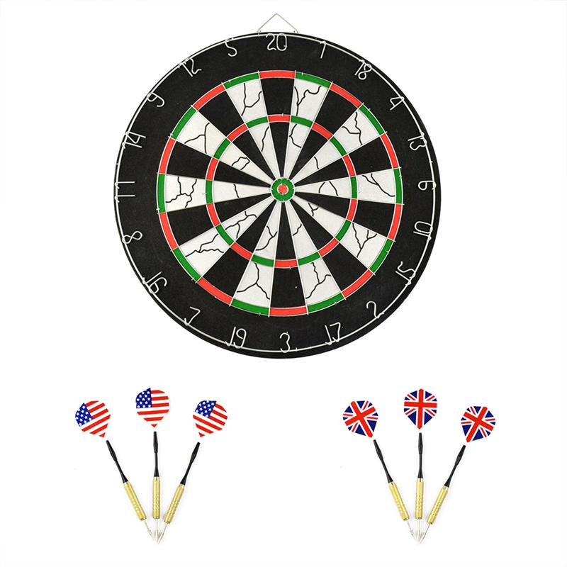 Professional 18-inch Dartboard Dart Board with 6 Darts 18 inch professional electronic dart board set with 6pcs darts soft tip dartboard for indoor game english voice scorer