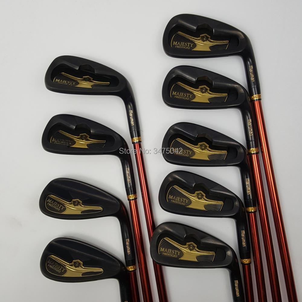 Golf clubs Golf Irons Maruman Majesty Prestigio 9 Golf irons 5-10 P.A.S Irons clubs Graphite shaft R/S flex Free shipping клюшка для гольфа golf clubs hybrid 4pcs 2015 r15 2 17 3 19 4 21 5 24 r flex r15 hybrid
