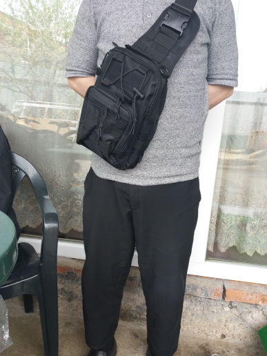 Tactical Shoulderpack photo review