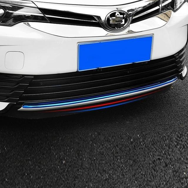 Grille exterior promote decorative modified bright sequins accessories decoration car styling accessory 17 FOR Toyota Corolla