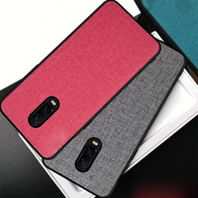 цена на Ikrsses Case For OnePlus 6T Case Luxury PU hard shell back and Soft TPU Case For OnePlus 6 6t Anti-fall Fabric Simple PC Cover