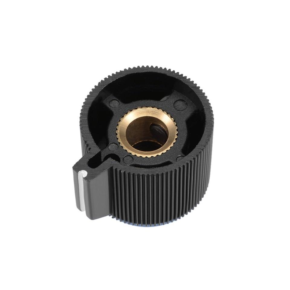 10 Pcs Potentiometer Knob Rotary Control Turning Bakelite Knob Hole Dia 6mm BDAU