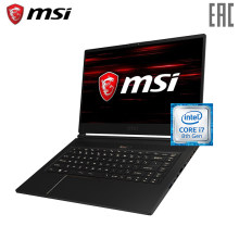 "Ноутбук игровой MSI GS65 Stealth Thin 8RE-080RU 15.6""/i7 8750H/16GB/256SSDGB/noDVD/GF1060/Win10/Black (9S7-16Q211-080)(Russian Federation)"