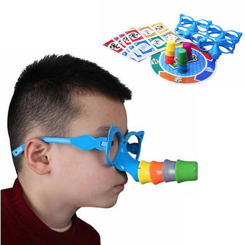 Great Family Fun Educational Toys Fibber Board Game Set Stretch The Truth Your Nose May Grow Players Party Puzzle Game