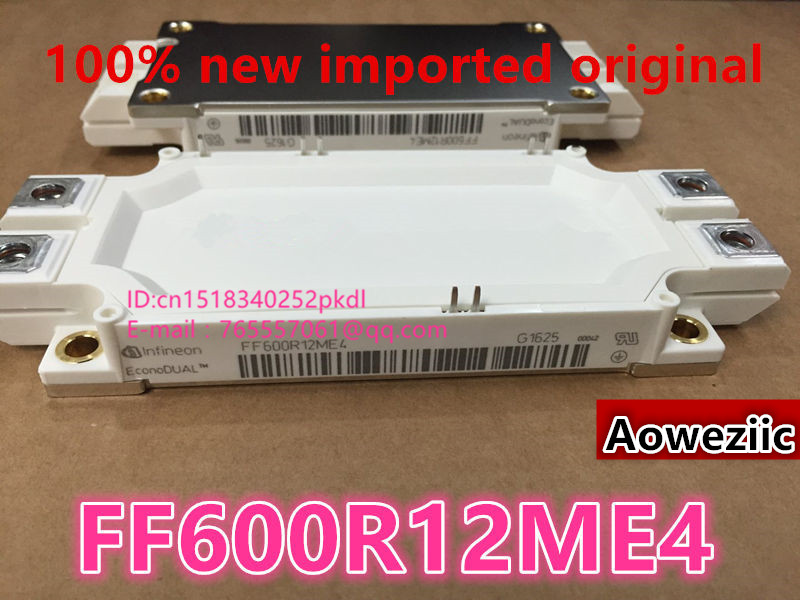 Aoweziic  100% new imported original  FF600R12ME4 power module 600A1200V 100% new imported original 2mbi200u4h120 power igbt module