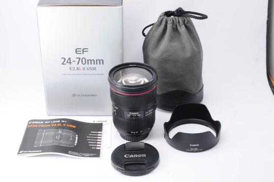 Canon EF 24-70mm f/2.8L II USM Lente Zoom Padrão Para 1DX 5DS 5DSR 5D IV 5D III 6D II 7D II 80D 800D 700D