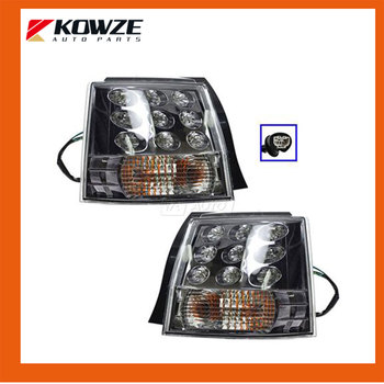 2PCS Rear Left & Right Outer Brake Light Tail light Lamp for Mitsubishi Outlander EX 2006-2016 8330A395 8330A396
