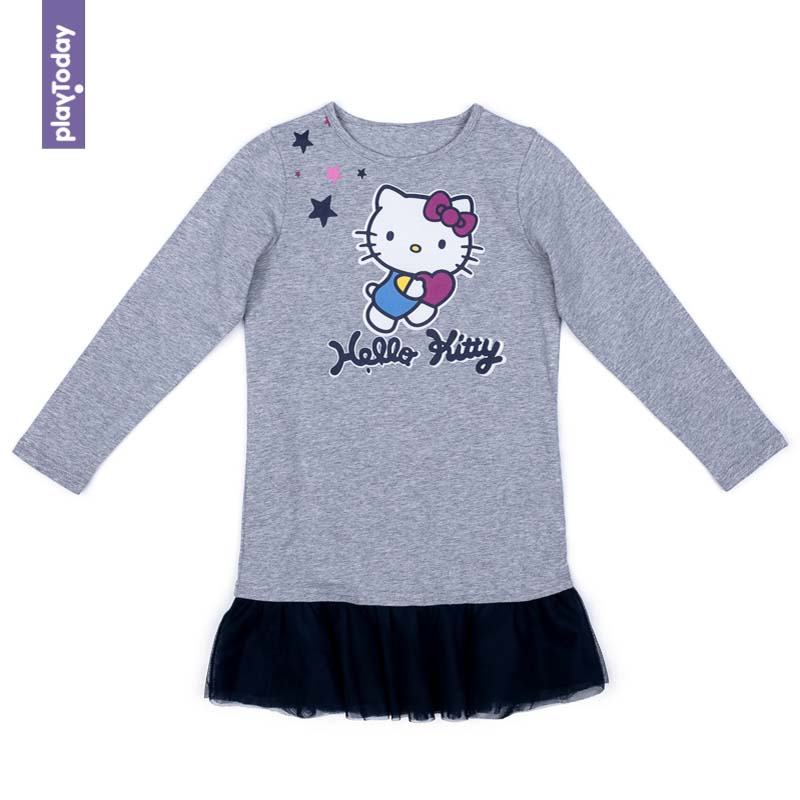 Dresses PLAYTODAY for girls 572154 Children clothes kids clothes dresses dress befree for female half sleeve women clothes apparel casual spring 1811554599 50 tmallfs