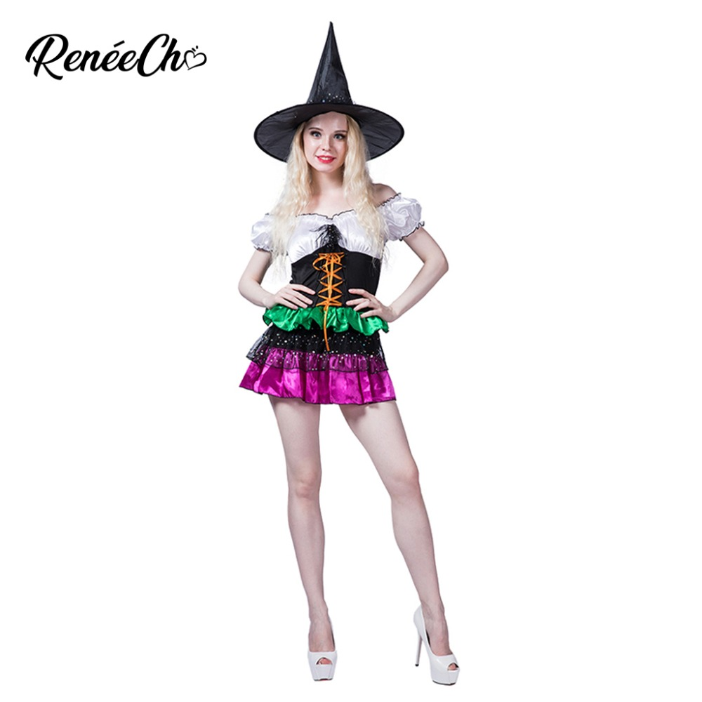 Halloween Costume For Adult Women Glamorous Witch Costume sexy fantasia glitter dress vampire costumes women's for game party