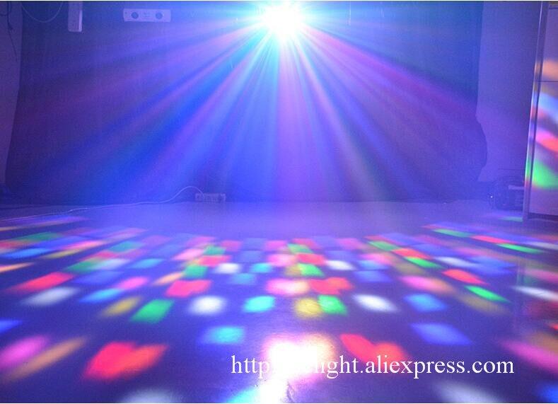 LED derby efeito KTV luz borboleta led