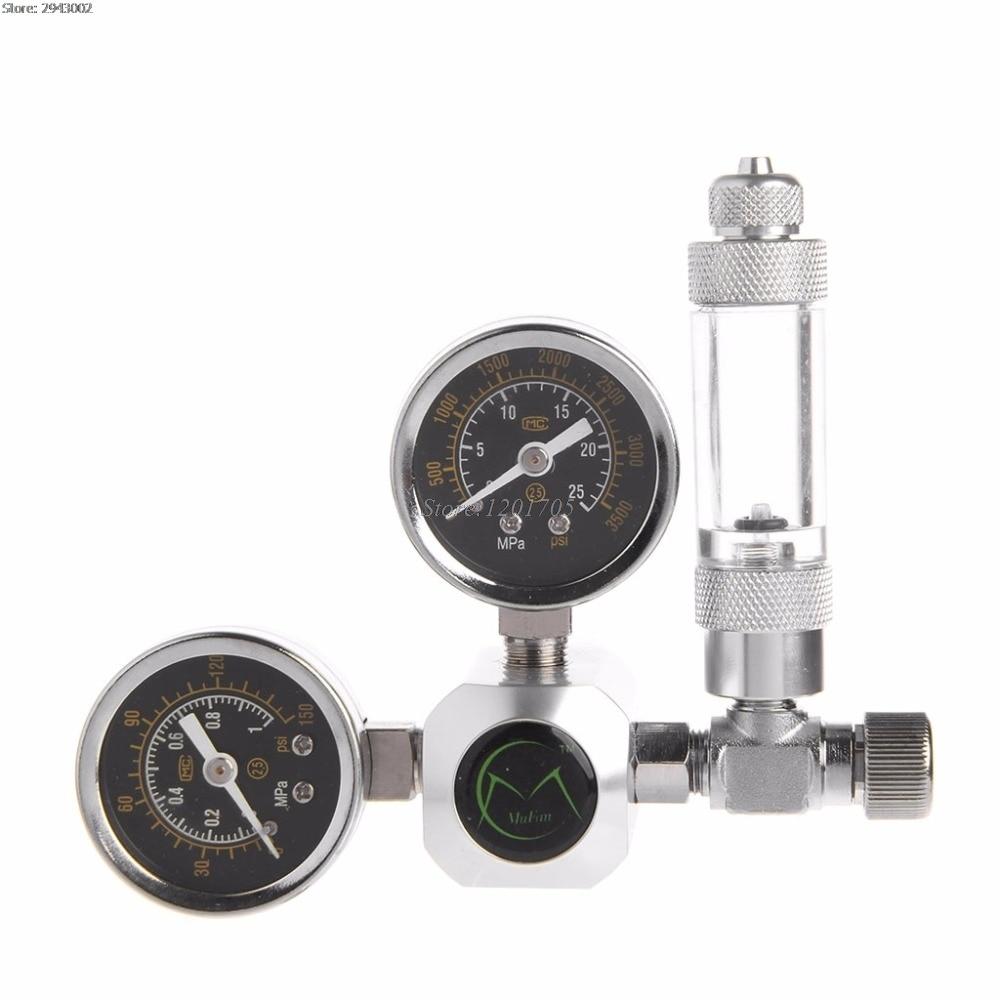Aquarium CO2 Control Regulator G5 / 8 Interface Check Valve Bubble Counter CO2 Control