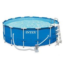 Gerüst runde pool für garten sommer freizeit bade sommer Intex größe 457 х122см, artikel Keine. 28242
