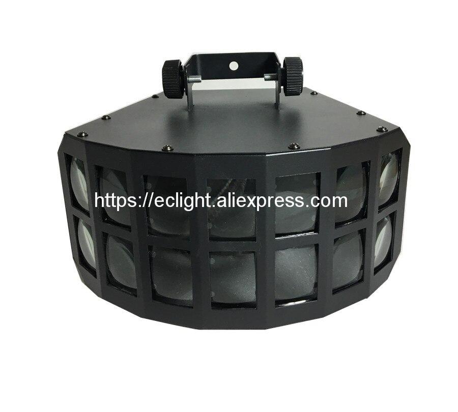 LED disco double papillon lumière pour DJ Club Parti/led effet de lumière/DMX512 led Étape Lampe/DJ équipements/KTV lumières disco