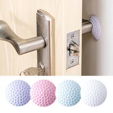 1 sztuk zagęszczanie ścian wyciszenie drzwi błotniki Golf stylizacja gumowy odbojnik ochrona na zamek do drzwi ochrona naklejka ścienna do domu tanie tanio Liplasting Jednoczęściowy pakiet 3d naklejki Stałe Meble Naklejki Na ścianie WALL cartoon YR29877 White Pink Blue Purple