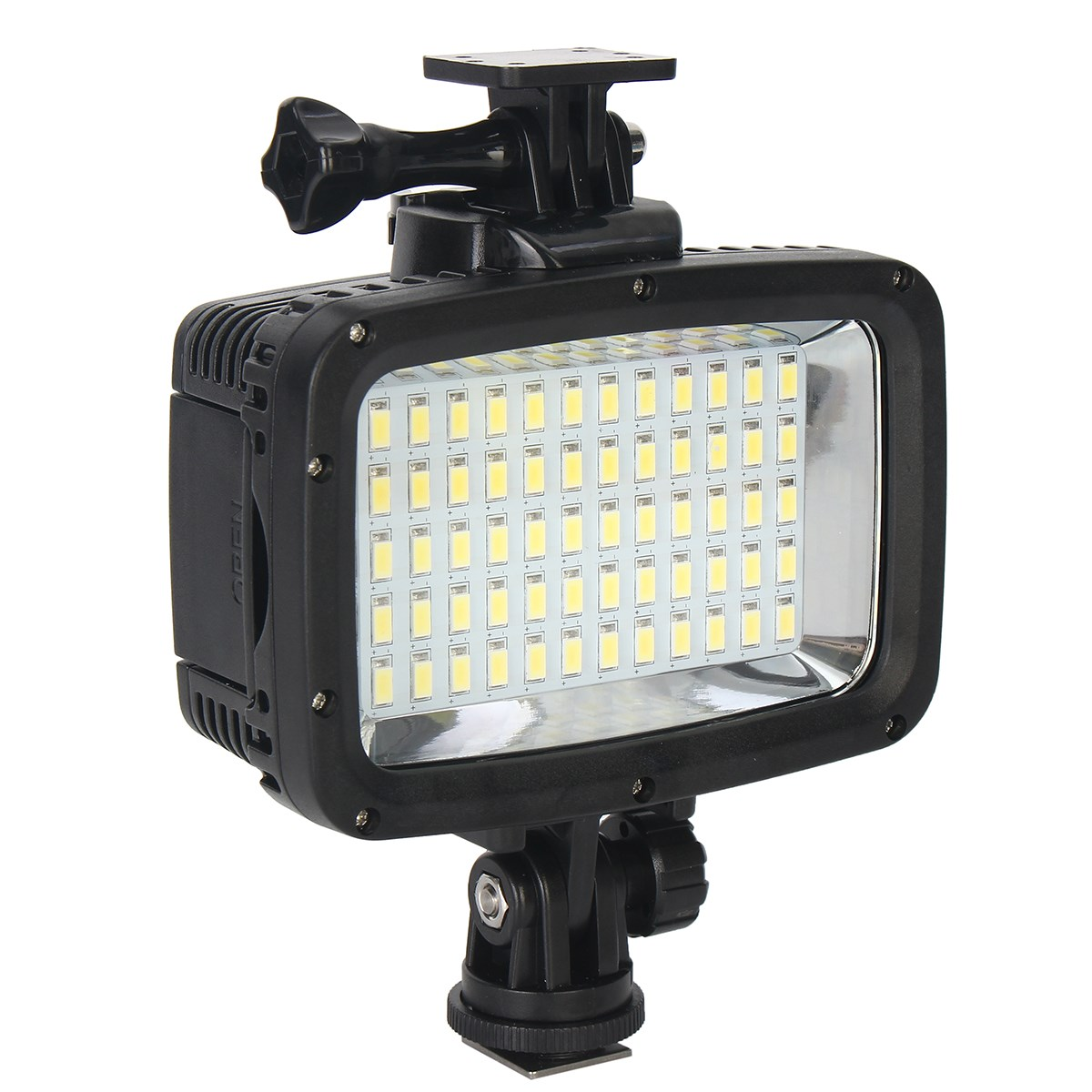 60 LED Filter Wasserdichte Kamera Video Licht Professionelle Camcorder Lampe 1800LM 40 mt Tauchen für GoPro Hero Für DSLR