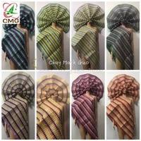 African Nigerian fashion beads aso oke gele headtie good quality wraps sego gele headtie fabric 2piece/set