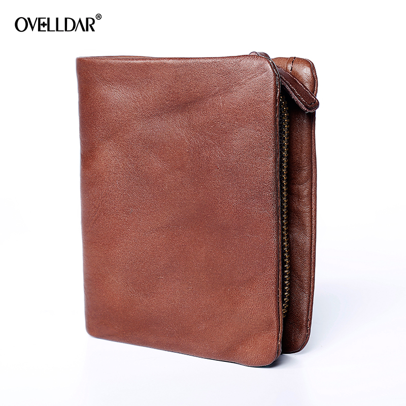 2018 Genuine Leather Women Wallet Female Small Walet Portomonee Lady Mini Zipper Money Bag Vallet Coin Purse Card Holder Perse gzcz genuine leather women wallet female zipper coin purse luxury brand small walet card holder clamp for money bag portomonee