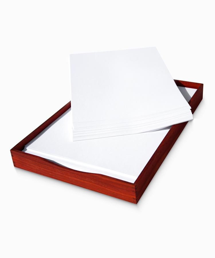 Padouk Paper Tray