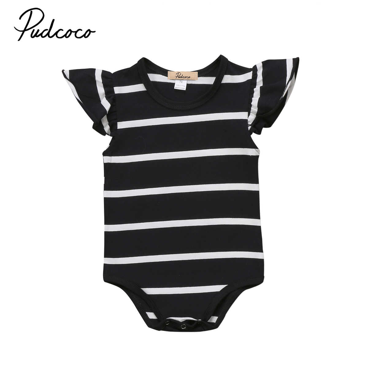9fa50aa63 Detail Feedback Questions about Cute striped baby girs romper ...