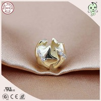 DIY Populaire En Mode Gold Plating 925 Real Silver Star Charm Fitting Europese Beroemde Zilveren Armband