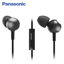 Panasonic RP-TCM360GCK Наушники-вкладыши с микрофоном, Безопасная и удобная фиксация, Компактный закругленный корпус
